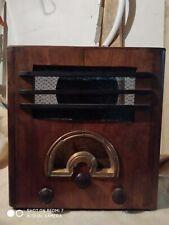 RADIO ANTIGUA,ANTIQUE RADIO DECADE 1930s