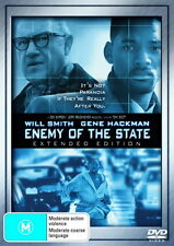 Enemy Of The State - Action / Thriller - Will Smith, Gene Hackman - NEW DVD
