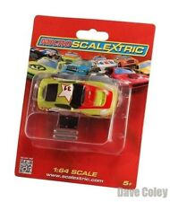 New carded Micro Scalextric Car G2160 GT Sports Car Green 31