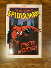 ADVENTURES OF SPIDER-MAN SINISTER INTENTIONS TPB Marvel