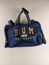 Men's Blue B.U.M. Equipment Canvas Gym Bag