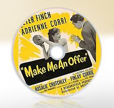 Make Me An Offer (1955) DVD Comedy Movie / Film Peter Finch Adrienne Corri