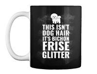 Bichon Frise Glitter Gift Coffee Mug