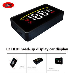 Universal Head Up Display Projector Car Truckw Speedometer w/  Speeding alarm