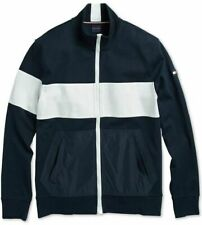 Tommy Hilfiger Navy Blue Mariner Fleece Colorblock Jacket...