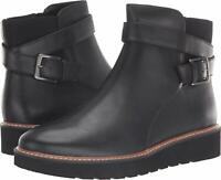 Naturalizer Womens Aster Leather Closed Toe Ankle, Black Leather, Size 8.0 K2lC