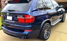 BMW E70 X5 07-13 Wide AERO Fender Flares ABS Wheel Flares Moulding Trim Spoiler-