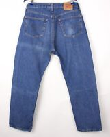 Levi's Strauss & Co Hommes 501 Jeans Jambe Droite Taille W38 L32 BCZ692