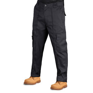 Men Cargo Work Trousers Pro Heavy Duty 30 to 42 Waist Workwear UK Multi Pockets