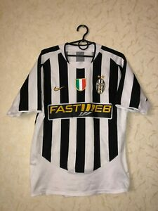 Rare Juventus 2003-2004 home football shirt jersey maglia size S