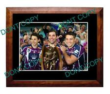 SMITH SLATER & CRONK MELBOURNE STORM PREMIRSHIP WIN LARGE A3 PHOTO