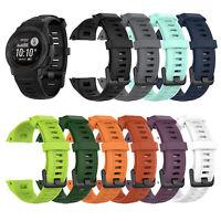 Per Garmin Instinct Sportivo Silicone Orologio Cinturino Watchband Strap 22mm