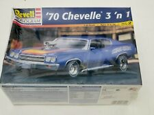 Revell '70 CHEVELLE SS 454 1970 Heavy CHEVY 3 'N 1 MONOGRAM 85-2715 1:24 Kit