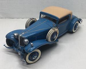 Danbury Mint 1929 Cord L-29 Special Coupe Model Car 1:16 Scale