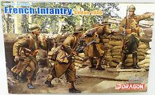 ARMY : FRENCH INFANTRY SEDAN 1940 1/35 SCALE DRAGON MODEL KIT (DJ)