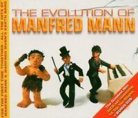 MANFRED MANN - THE EVOLUTION OF... 3 CD + DVD NEW