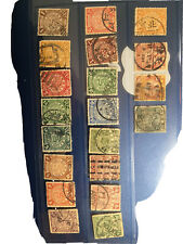 China Coiling Dragon Stamps Full Sets 1900s