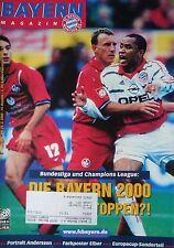 Programm 1999/00 FC Bayern München - Kaiserslautern