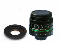 50MM APS-C F1.8 TV Lens + Adapter for Sony E-Mount a6000 a5000 a3500 a3000 a6500