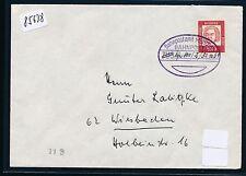 85638) Überlandpost M.-Kempten, BPA München BP ZUG hs.800-2, Brief 30.10.64
