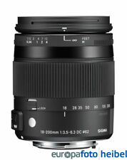 SIGMA AF 18-200 mm f/3, 5-6,3 DC OS Contemporary HSM per Canon EOS
