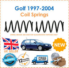 For VW Golf MK4 1997-2004 2 Rear Coil Springs Set Pair 1J0511115AJ 1J0511115AK