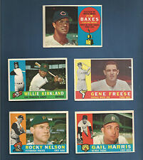 1960 TOPPS WHITE SOX GENE FREESE CARD #435