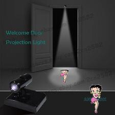 Pretty Girl BETTY BOOP Wireless Home Door LED Porjector Laser Ghost Shadow Light