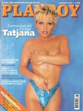 Playboy 8/98 August 1998 Flooder Star Tatjana Simic Anke Feller Baywatch