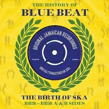 THE HISTORY OF BLUEBEAT-A&B SIDES (DERRICK MORGAN, CLANCY ECCLES,...) 3 CD NEU