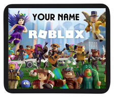 PERSONALISED (ROBLOX) CUSTOM NAME GAME MOUSE MAT / PAD  For PC / Laptop
