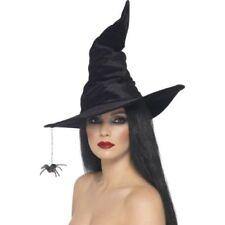Cappelli e copricapi neri per carnevale e teatro dal Regno Unito, tema streghe