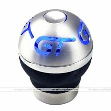 Blue LED Flash Light Universal Car Manual Shifter Shift Knob Gear Lever Cool