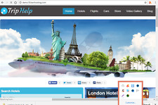 Best Automated Hotel and Travel Website Free Installation+ Free Hosting