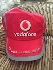 VODAFONE McLaren Cap Hat Racing MERCEDES LEWIS NEW