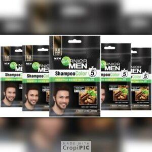 Garnier Men Hair Dye Shampoo Color IN 5 MINS