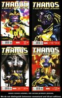 Thanos: A God Up There Listening 1 2 3 4 Complete Set Run Lot 1-4 VF/VF