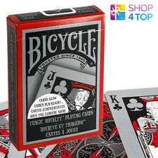 BICYCLE TRAGIC ROYALTY PLAYING CARDS DECK GLOW IN DARK UNDER BLACK LIGHT USPCC