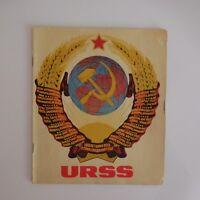 URSS prospectus propagande CCCP ANH document vintage authentique XXe PN France