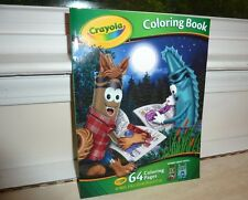 Crayola Coloring book BASED ON 2013 Halloween crayon packs Full moon Goon Lagoon