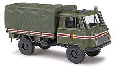 "Modellauto Busch (H0 50228): Robur LO 2002 A ""Schlussfahrzeug"""
