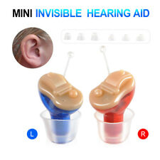 Digital Invisible Hearing Aids 6 Channel Sound Voice Amplifier Enhancer Device