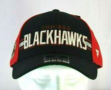 Chicago Blackhawks Black/Red  Baseball Cap Snapback