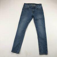 American Eagle Mens Next Level Flex Medium Wash Skinny Jeans Size 28x28