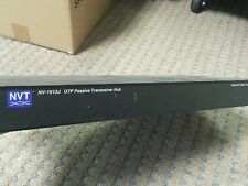 USED NVT NV-1613J UTP PASSIVE TRANSCEIVER HUB...working