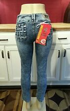 Sand Limited - Colombian Butt Lifting Jeans, Acid Wash/Sand Blast, US 9, COL 14