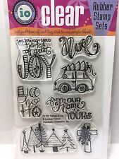 Impression Obsession Clear Rubber Stamp Set - Tidings of Joy  - CL702 - NEW