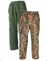 Jack Pyke Junior Hunters Trouser Waterproof English Oak Fishing Hunting Kids S