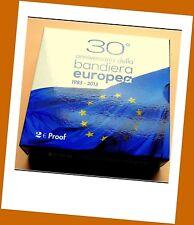 """2 Euro Gedenkmünze Italien 2015 in PP """" 30 Jahre Europaflagge """" Etui ungeöffnet"""