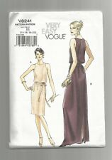 Vogue #8241 Misses' Evening or Cocktail Dress size 14-20 very easy UCff  ©2007